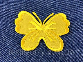 Нашивка метелик big колір жовтий
