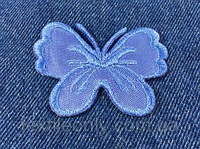 Нашивка метелик big колір синій