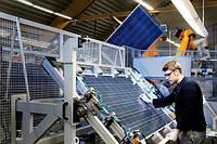 Производство солнечного модуля