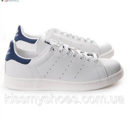 Adidas Stan Smith White Blue - Интернет магазин модной обуви и одежды