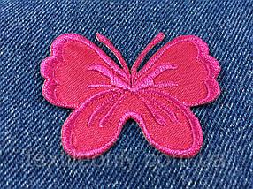 Нашивка метелик big колір малиновий