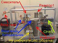 Установка по производству метанола.