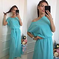 Платье №3121Г  (р-р.50-52,54-56)  Ткан -штапель.