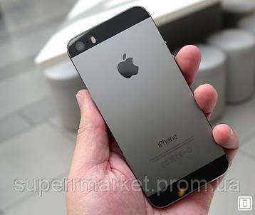 Смартфон Apple iPhone 5S 16gb Space Grey, фото 2