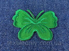 Нашивка метелик big колір зелений