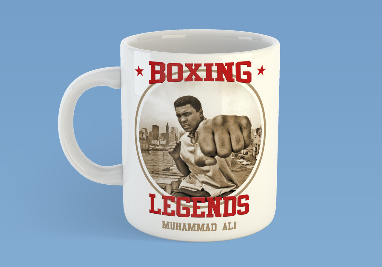 "Чашка ""Boxing legends Muhammad Ali"""