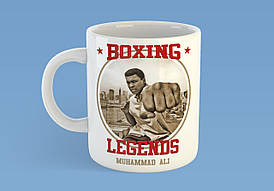 "Чашка ""Boxing legends Muhammad Ali"""