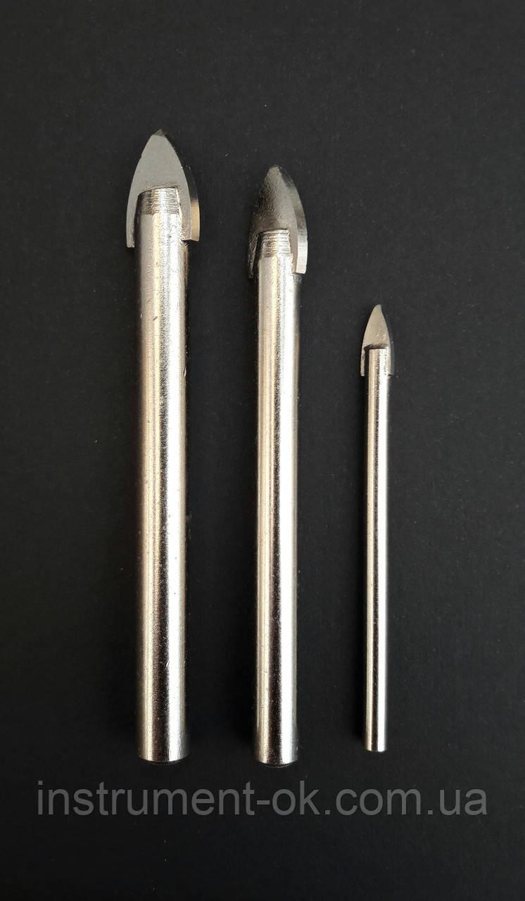 Сверло по плитке стеклу перьевое d 5 мм RAPIDE