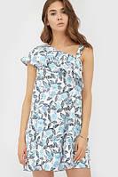 Літнє вільне плаття-міні з узором Margo