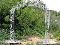Арка свадебная кованая (220х270 см)