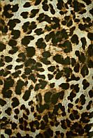Ткань Микромасло принт, арт. DP-3551/1DY02-050 леопард 4 коричневый