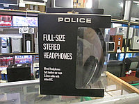 Наушники Police Full-Size Stereo Headphones