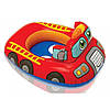 Детский надувной круг с отверстиями для ножек Intex 59586 77х58см транспорт, фото 4