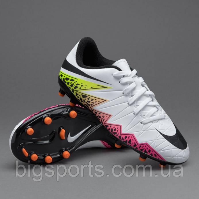 21ecd27a Бутсы футбольные дет. Nike Hypervenom Phelon II FG (арт. 744943-108 ...