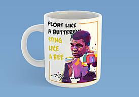 "Кружка ""Float like a butterfly"""