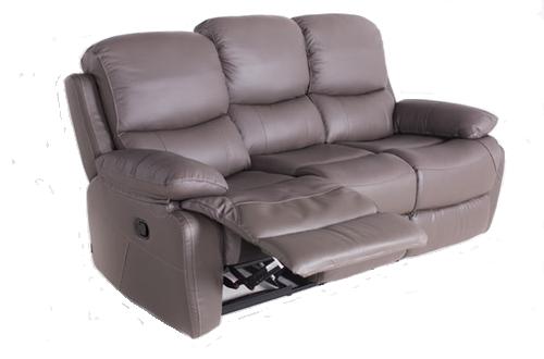 """Кожаный диван с реклайнером """"PORTLAND"""" (Портланд)"""