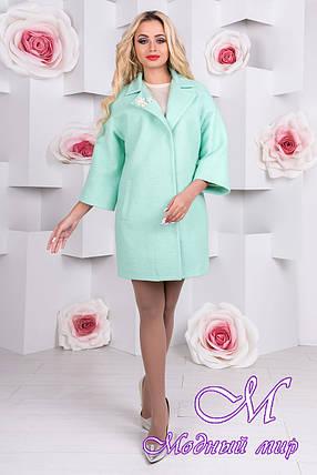Шикарное женское пальто (р. S, M, L) арт. Бина шерсть 9673, фото 2