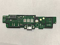 Нижняя плата для NOKIA 1520 со шлейфом micro-USB разъёмом и микрофоном