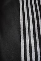Ткань Шерсть пальтовая вертикальная белая полоса сбоку купона