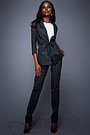 Элегантный черный брючный костюм Гарри  Jadone  42-48  размеры