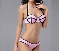 Стильный розовый купальник Triangl Уценка