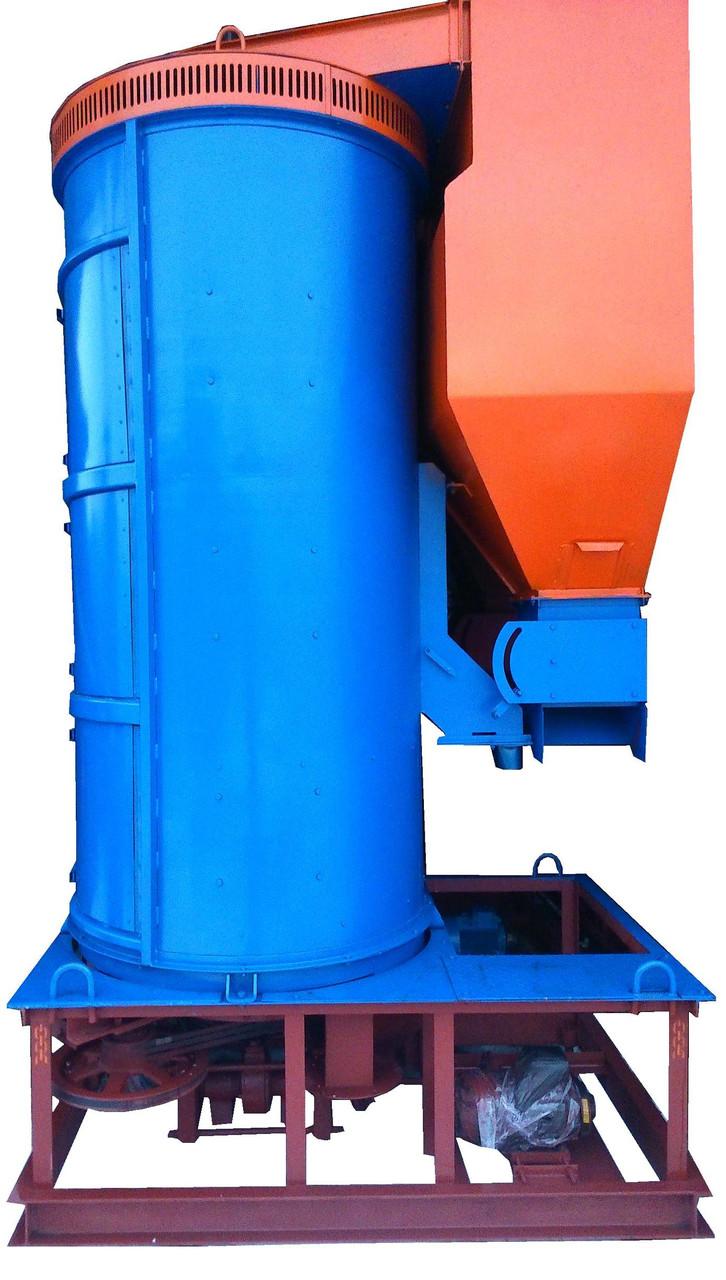 Зерновий виброцентробежный сепаратор УЗК-25 (БЦСМ 25)