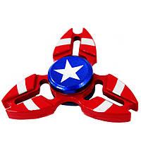 Треугольный спиннер: Капитан Америка