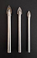 Сверло по плитке и стеклу перьевое d 6 мм ZHIWEI