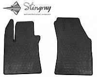 Не скользящие коврики Renault Megane IV 2015- Комплект из 2-х ковриков Черный в салон. Доставка по всей Украине. Оплата при получении