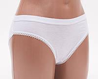 Женские трусы слип цвет белый р.48 Cotton 6051 k3108-488