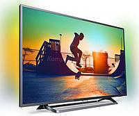 """Телевизор Philips Smart TV 43"""", LED, 4K Ultra HD, 900 PPI,DVB-T/T2/C/S2, 3xHDMI, 2xUSB, Wi-Fi, 43PUS6262"""