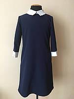 Школьное платье сарафан для девочки, фото 1