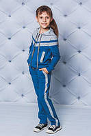 Спортивный костюм для девочки джинс