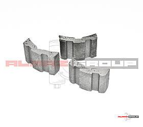 Алмазный сегмент Turbo- Х для Ø 25 - 28 мм