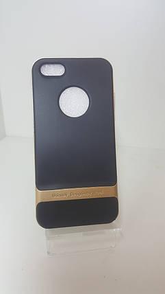 Чехол-бампер Rock на iPhone 5/5s/5se золото, фото 2