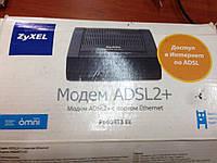 ADSL модем ZyXEL P660RT3
