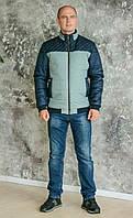 """Мужская стеганная,демисезонная куртка """"Stitch man."""" Новая коллекция 2017-18."""
