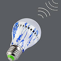 Светодиодная лампа  с датчиком звука