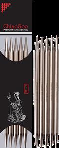 Носочные металлические спицы  ChiaoGoo № 2 ,длина 20 см.
