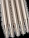 Носочные металлические спицы  ChiaoGoo № 3.5  ,длина 20 см., фото 2
