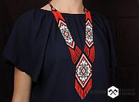 Герданы из бисера, женские герданы, украшение из бисера, фото 1
