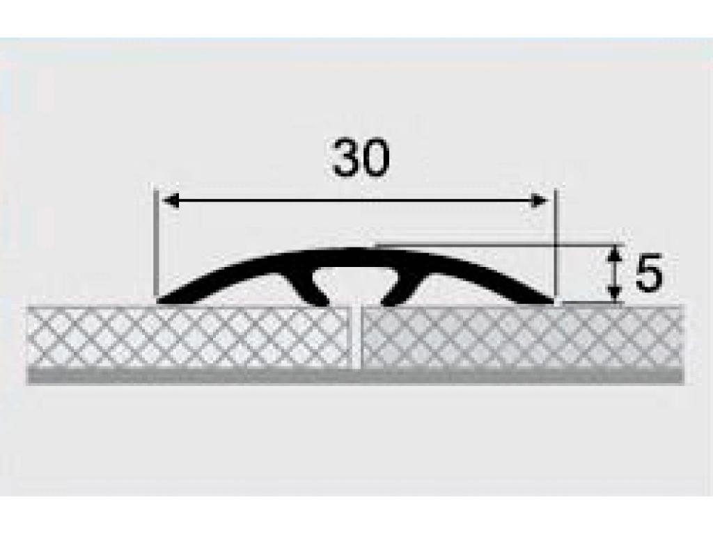 Порог алюминиевый 6-А