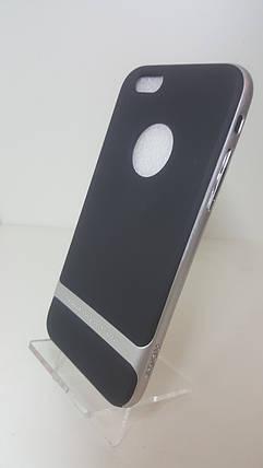 Чехол-бампер Rock на iPhone 6/6s сталь, фото 2