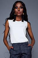 Женская блуза Мигано молоко Jadone Fashion 42-48 размеры