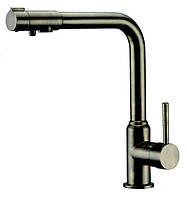 Смеситель с подключением фильтрованной воды 2 в 1 Kaiser Teka 13044-1 Старая бронза