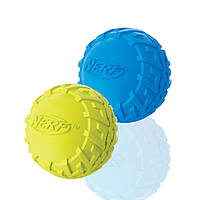 Игрушка Hagen Nerf Tire Squeak Ball для собак, 6,4 см