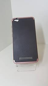 Чехол-бампер IPaky на Xiaomi Redmi 4А  Розовое золото