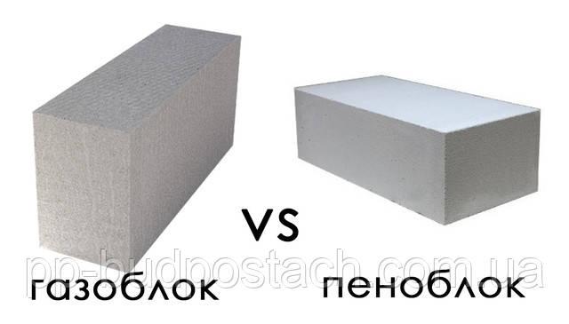 Что лучше – пеноблок или газоблок?
