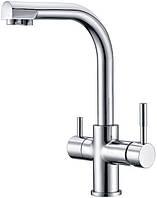 Смеситель для кухни с подключением фильтрованной воды Kern 2011 Хром