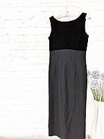 Черное вечернее платье макси